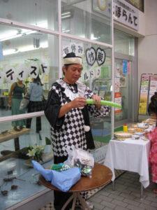 沢見さんによるバルーンアートが始まりました。