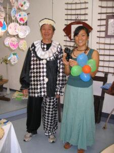 寺田さんと澤見さん。良いお顔で~はい、ポーズ!