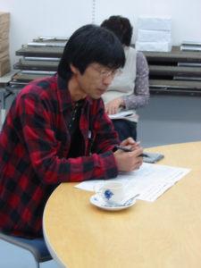 フリースクールAUC田端さんです。