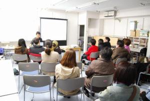 会場にはたくさんの方が集まりました。