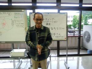 淡路島が来られた講師の青木将幸さん