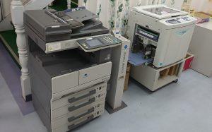 さぽらんてにあるコピー機、印刷機