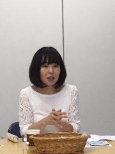 講師の竹岡さん