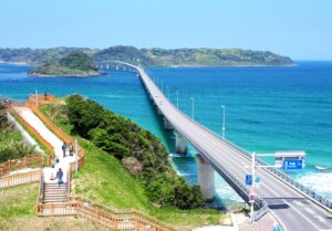 角島の写真です